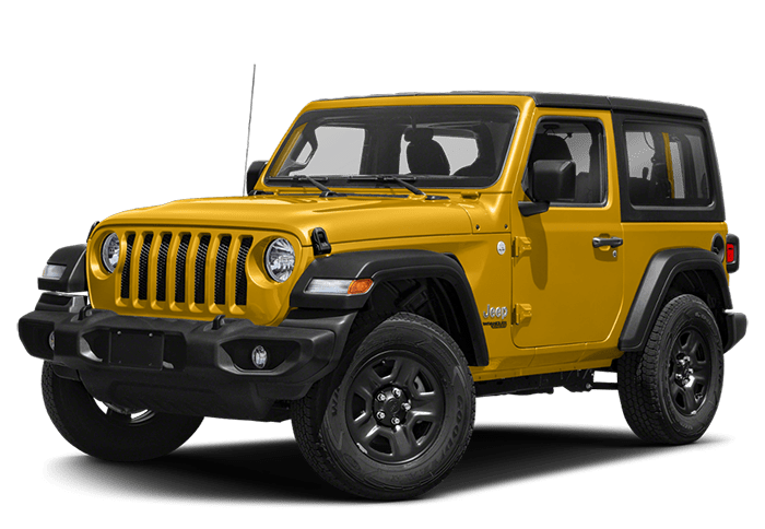 Yellow 2020 Jeep Wrangler