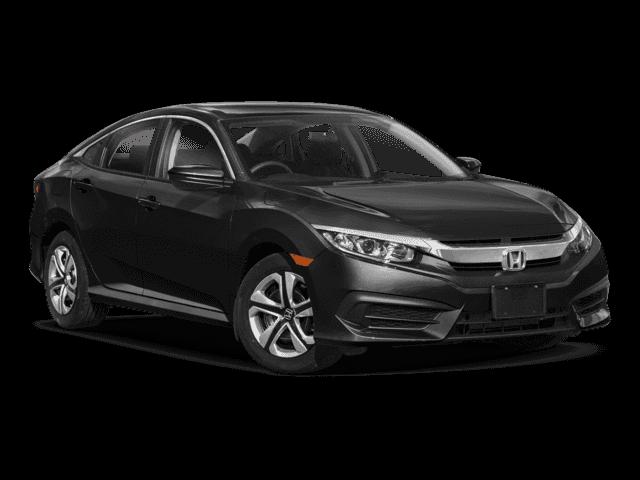 New 2018 Honda Civic LX FWD Sedan