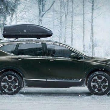 2019 Honda CR-V In Snow