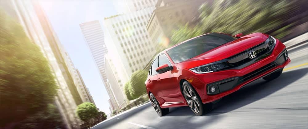 2019 Honda Civic Driving