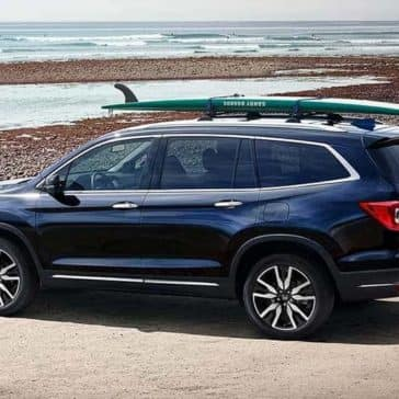 2019 Honda Pilot At Beach