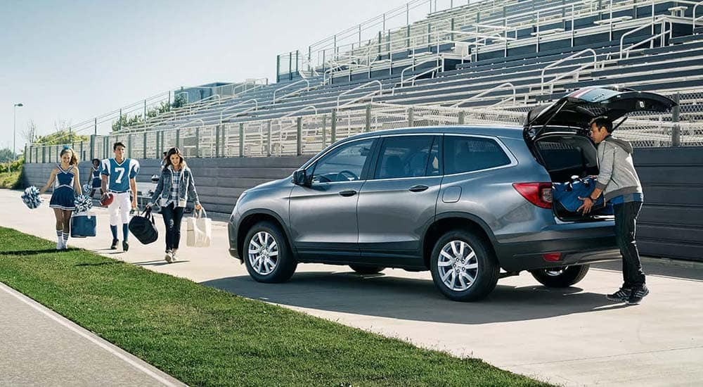 2019 Honda Pilot At Stadium