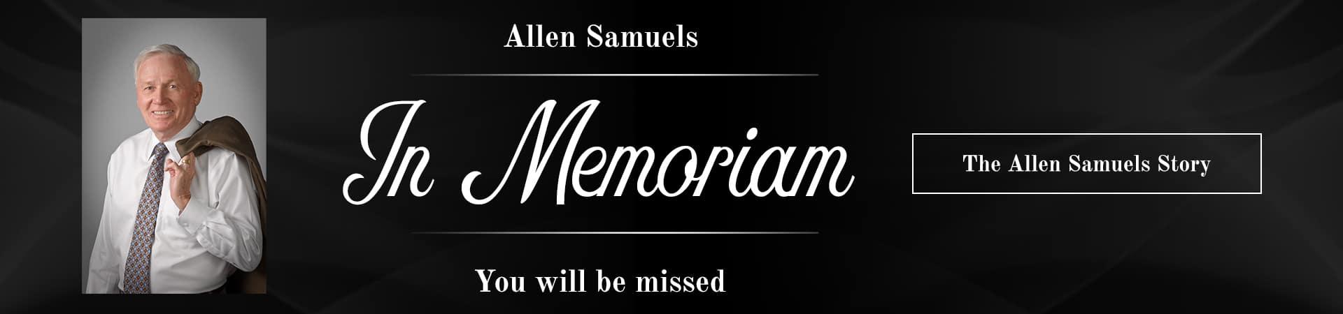 Allen Samuels In Memoriam