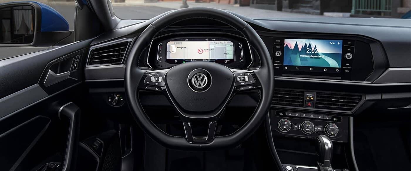 Volkswagen Interior Dash View