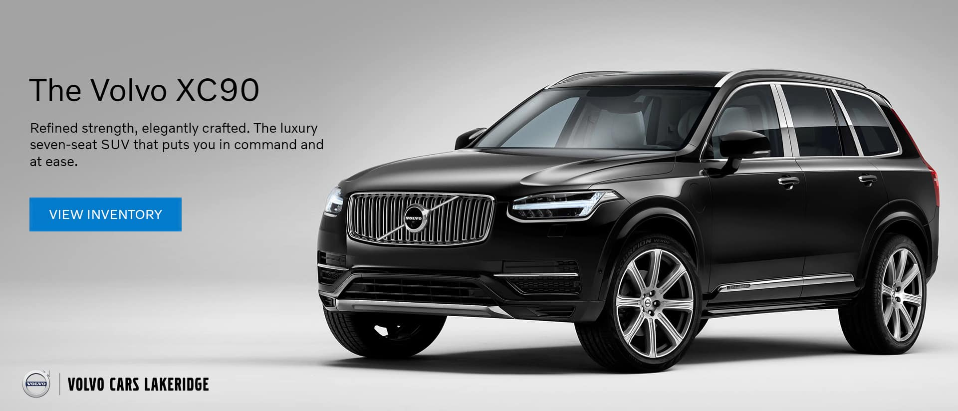 volvo xc90 volvo cars lakeridge