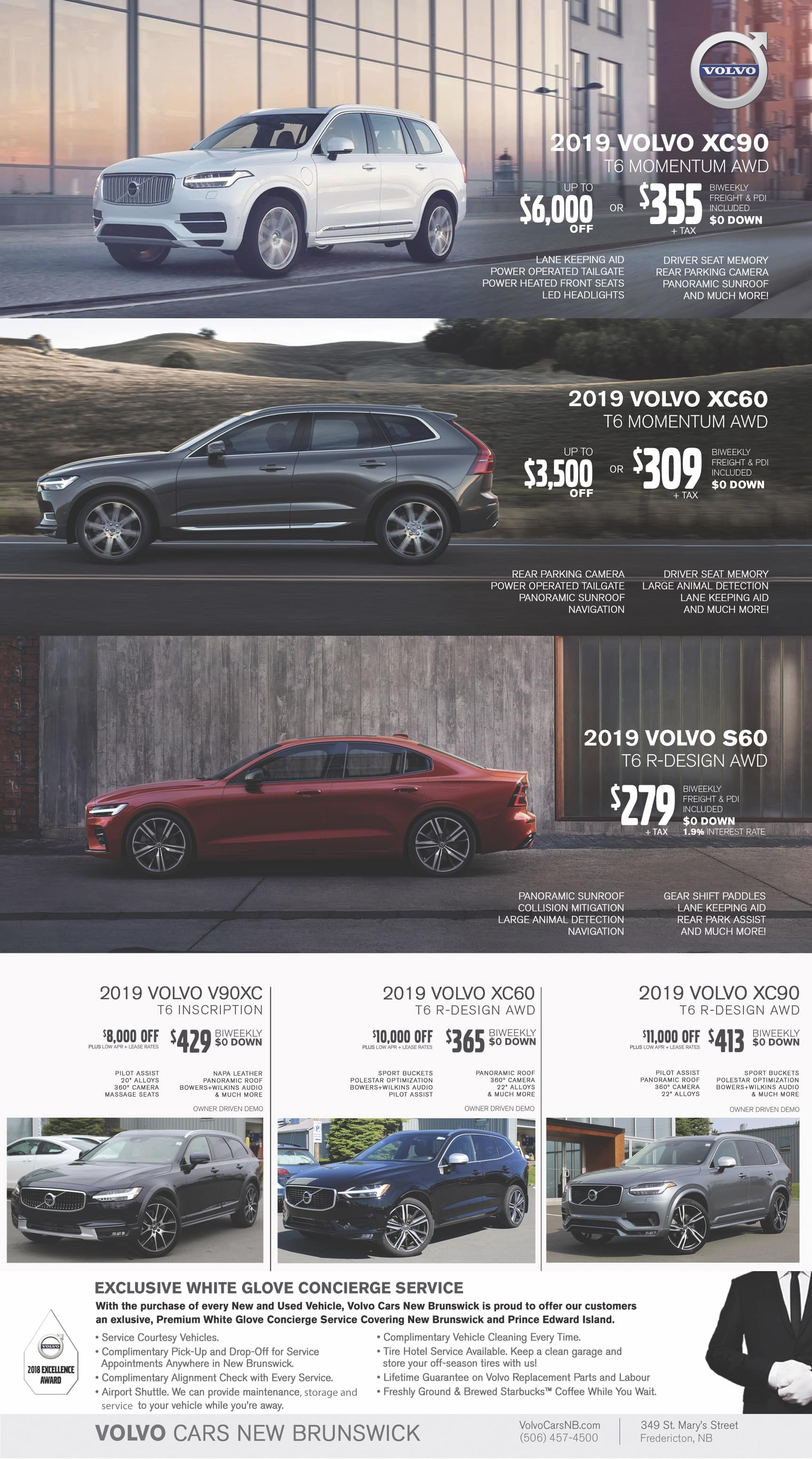 Volvo Offers And Incentives Volvo Cars New Brunswick In