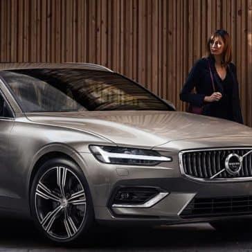 2020 Volvo V60 Parked