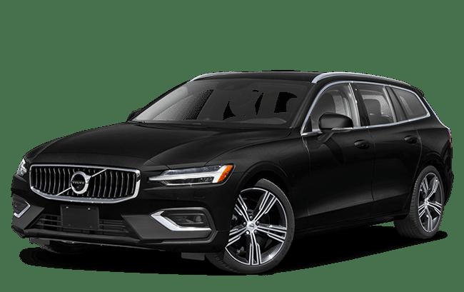 2020 Volvo V60 black