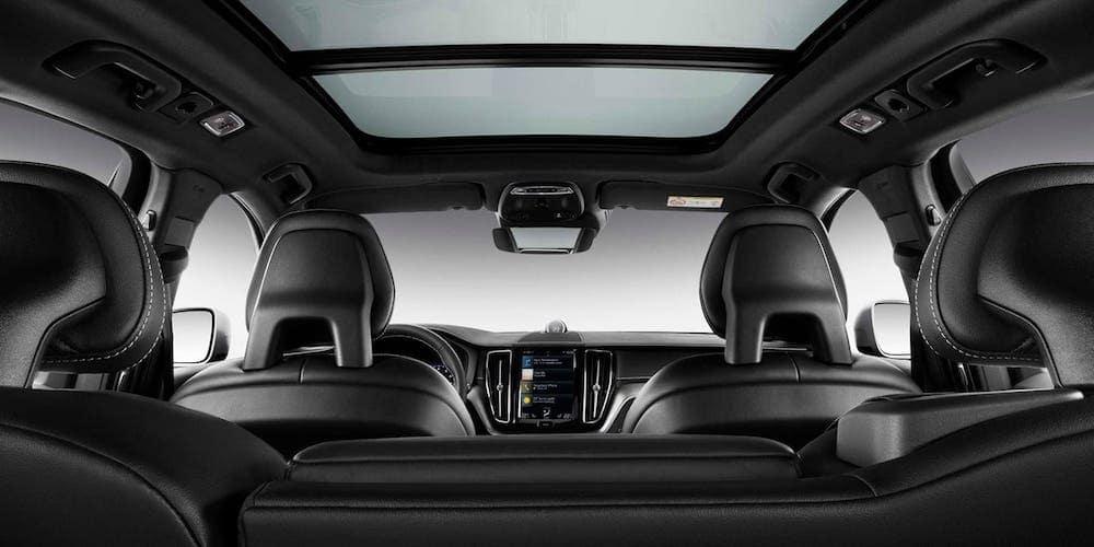 2020 Volvo XC60 Black Leather Interior