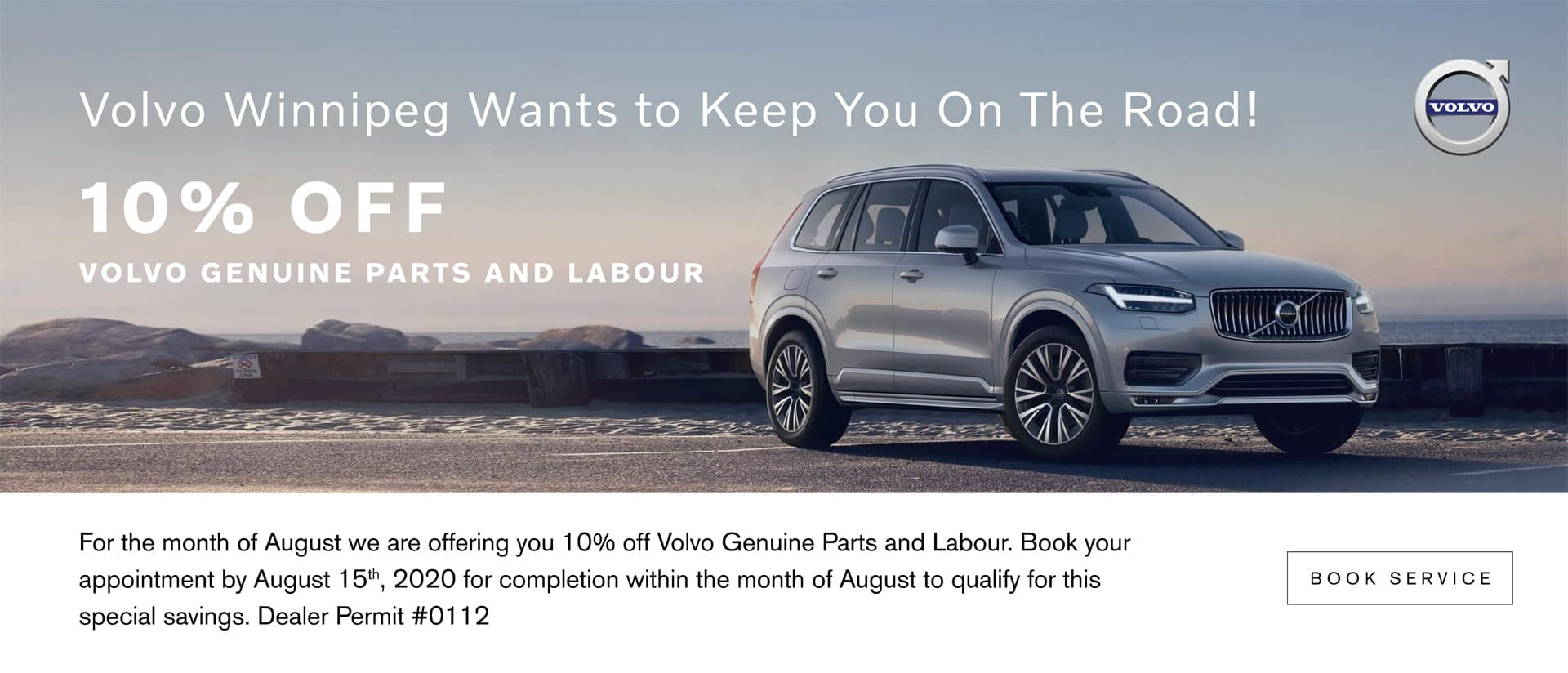 Volvo Winnipeg 10% Off Volvo Genuine Parts & Labour