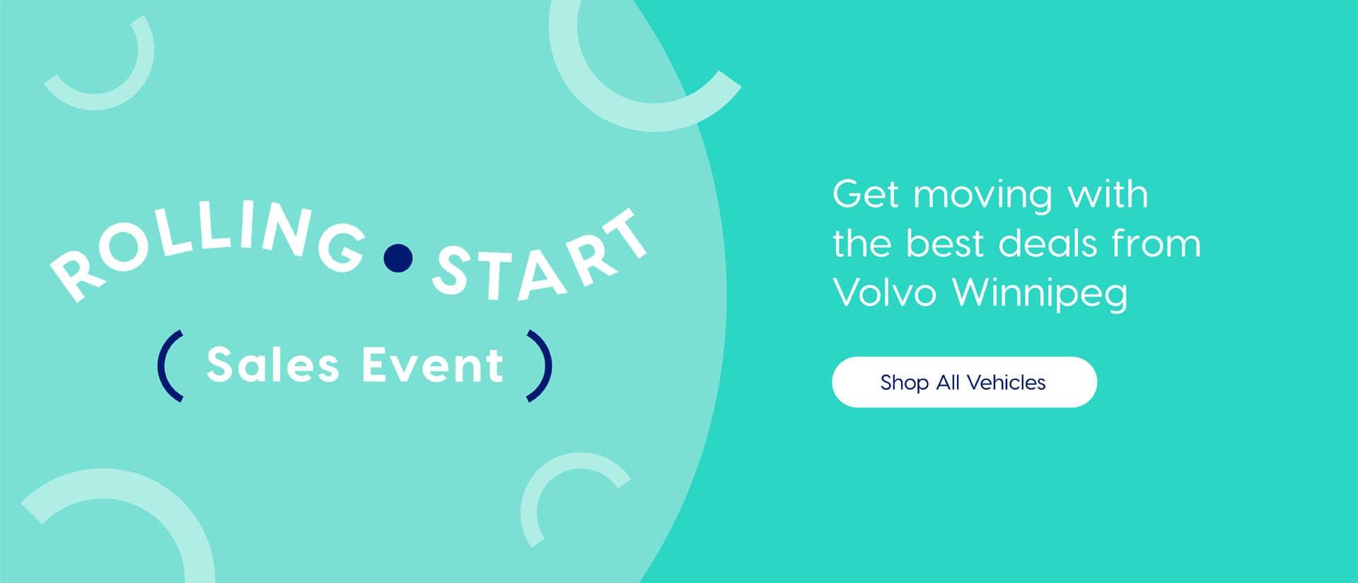 Volvo Winnipeg rolling Start Sales Event