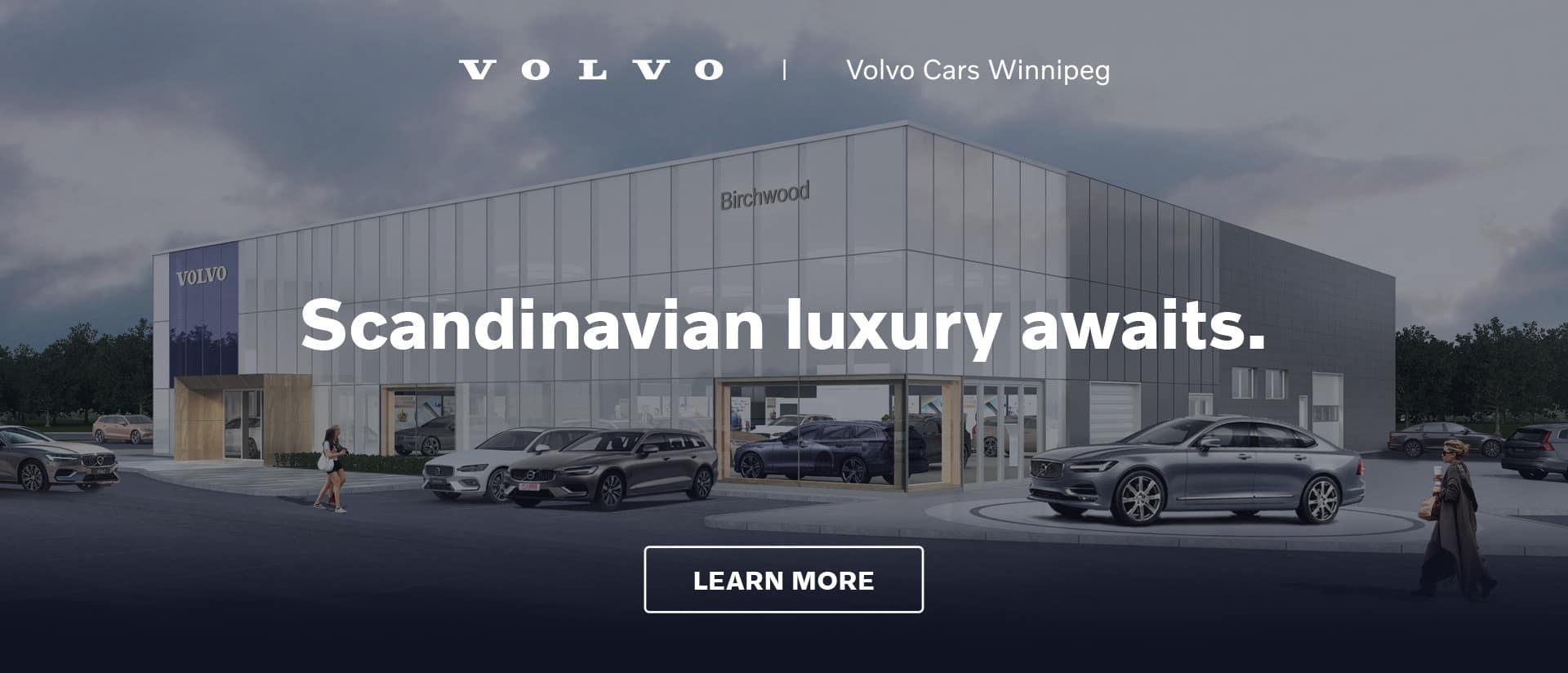 Volvo Cars Winnipeg Scandinavian Luxury Awaits