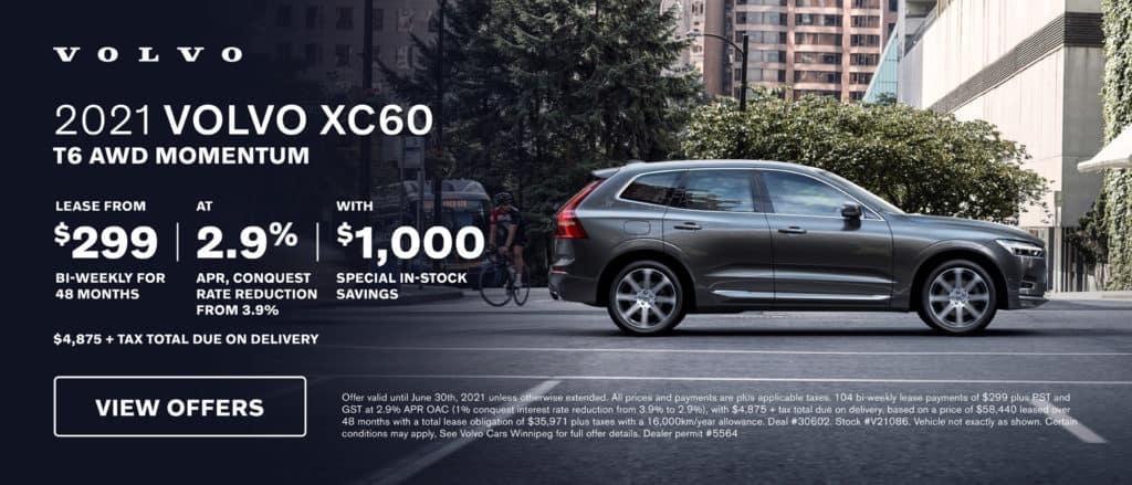 Volvo Winnipeg June XC60 Offer