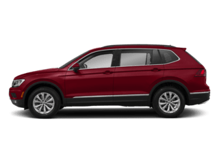 Tiguan side view