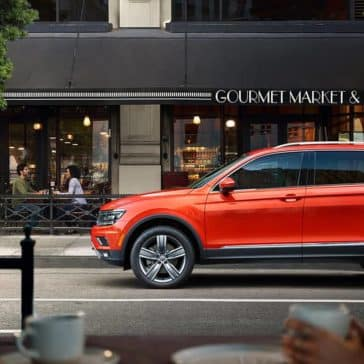 2019 Volkswagen Tiguan Parked at Curbside