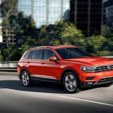 2019 Volkswagen Tiguan Driving