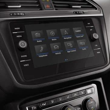 2019 Volkswagen Tiguan Interior Display Screen