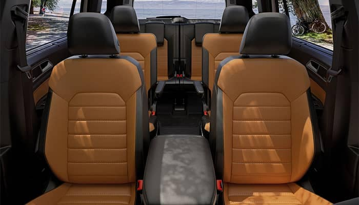 2019 Volkswagen Atlas Interior Seating Front to Back