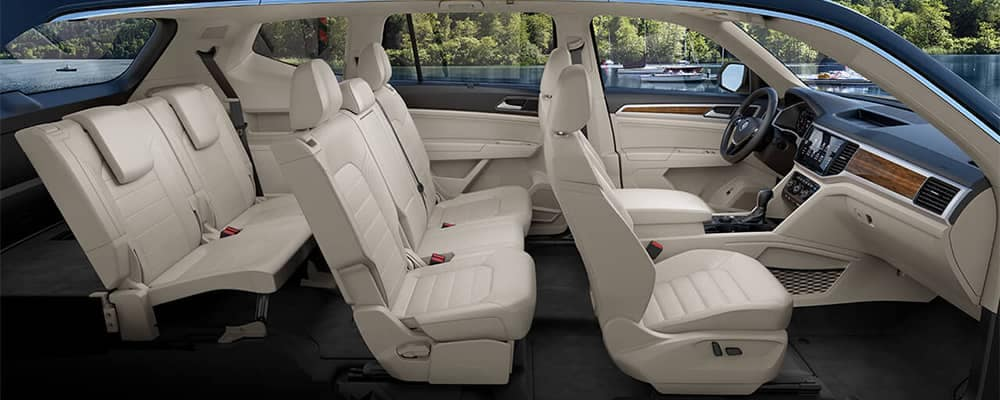 2019 Volkswagen Atlas Interior Seating Side View