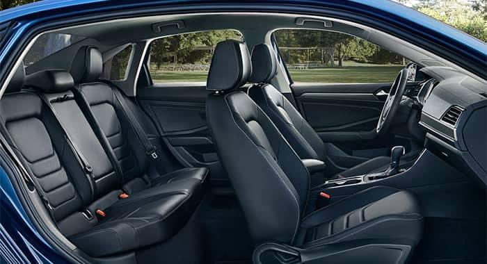 2019 Volkswagen Jetta Interior Black Seating