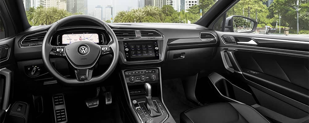 2019 Volkswgen Tiguan Interior Dashboard