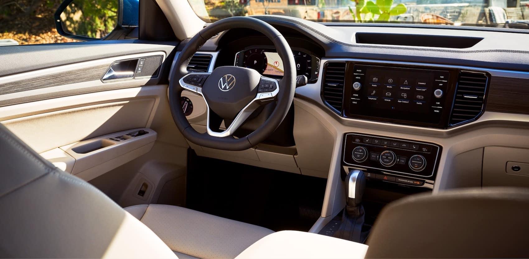 2021 Volkswagen Atlas Interior blog
