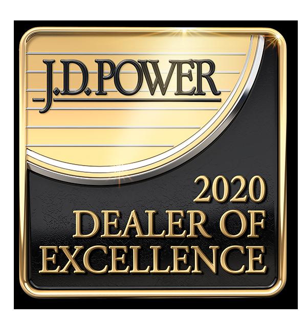 JD POWER DEALER OF EXCELLENCE