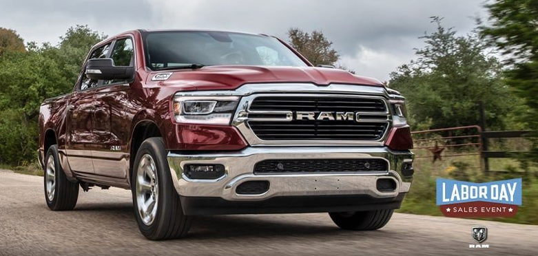 RAM Labor Day Sales Event near Fort Wayne IN