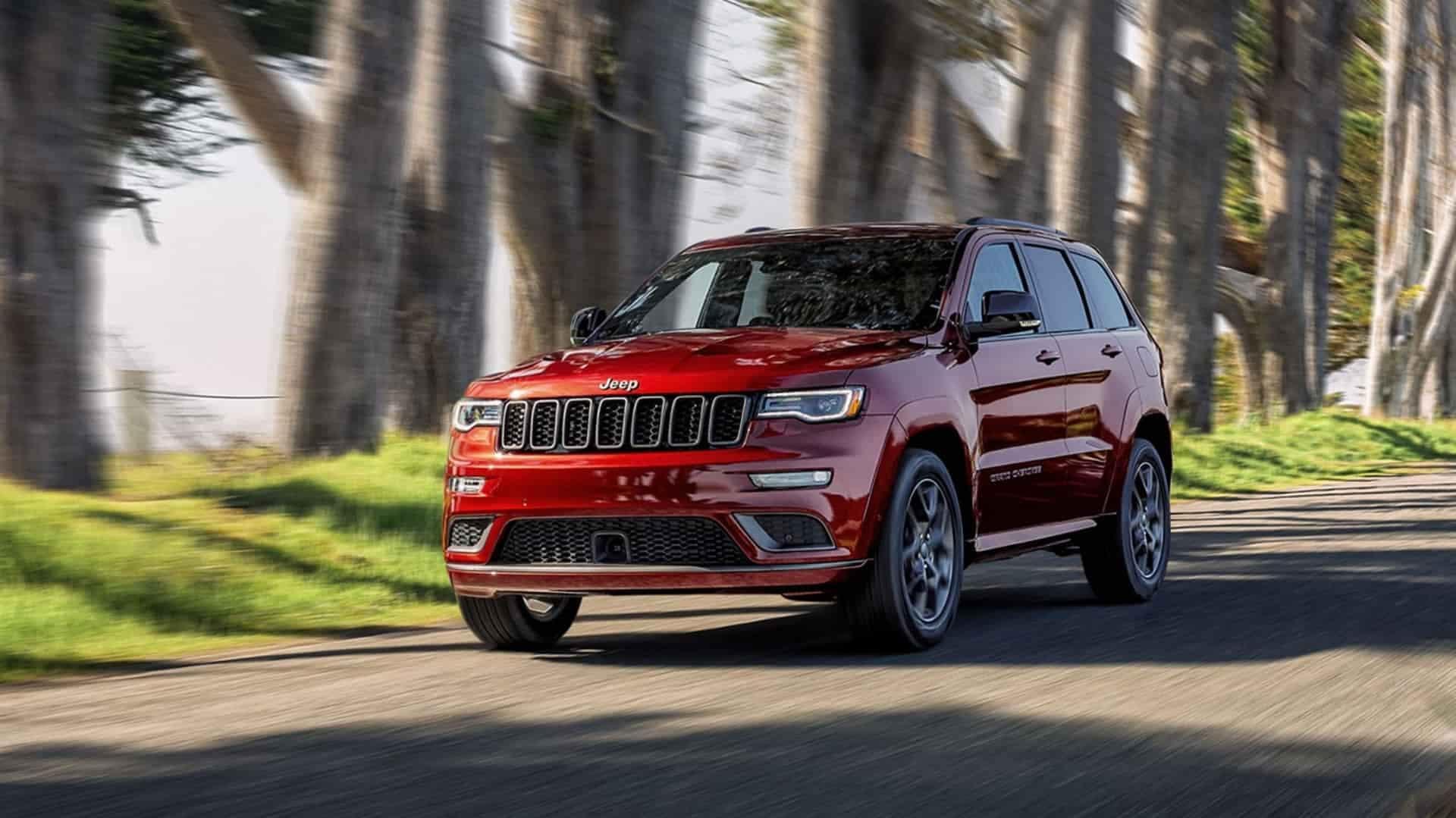 Lease the 2020 Jeep Grand Cherokee near Peru IN