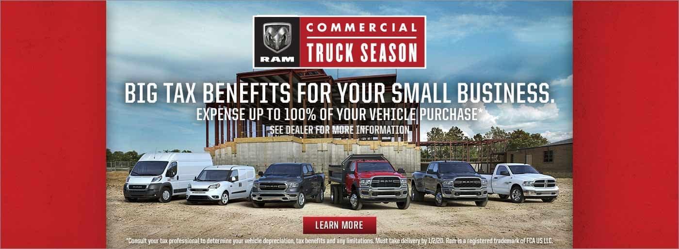 Ram Commercial Truck Season near Kokomo IN