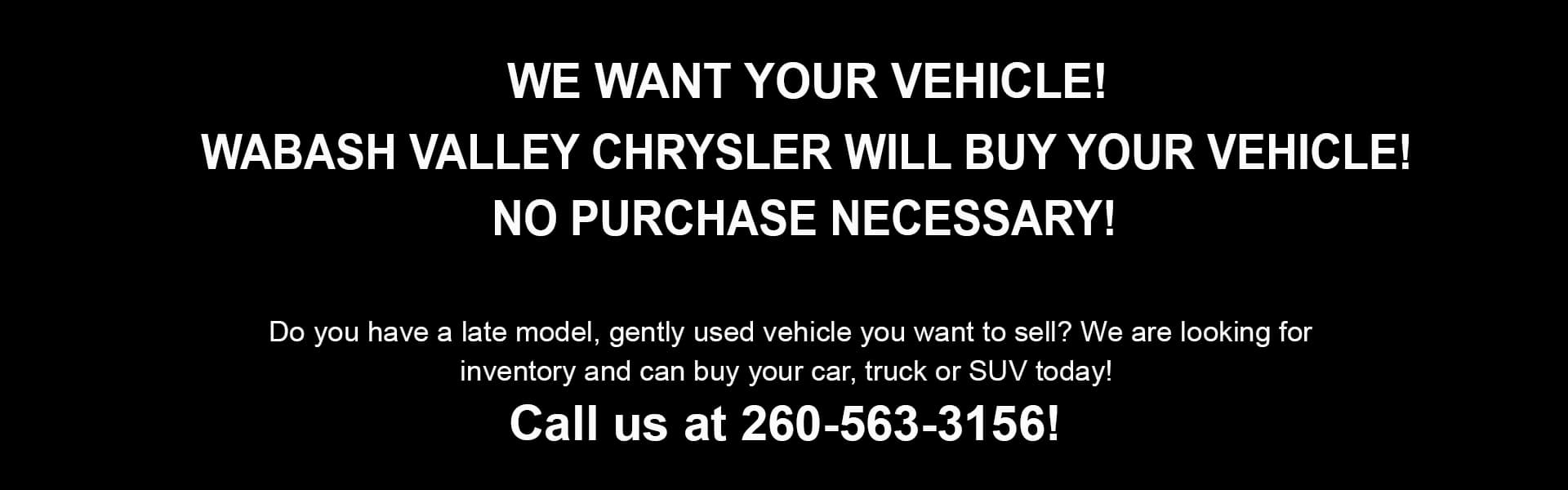 We-want-your-vehicle