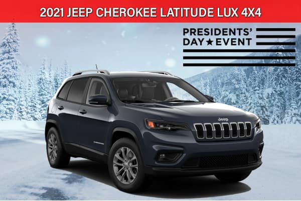 SPECIAL NEW 2021 JEEP CHEROKEE LATITUDE LUX 4X4