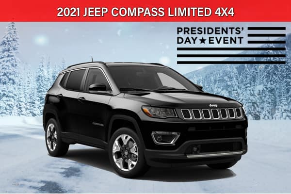 SPECIAL NEW 2021 JEEP COMPASS LIMITED 4X4