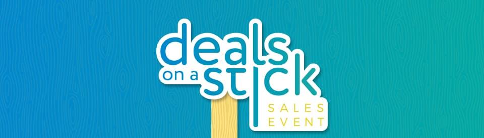 Walser Deals On A Stick Sales Event
