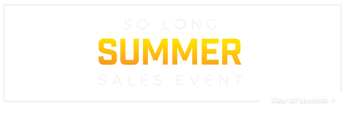 So Long Summer Sales Event