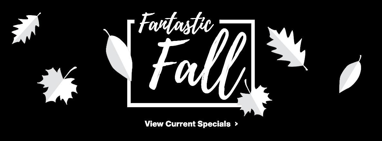 Fantastic Fall Sales Event