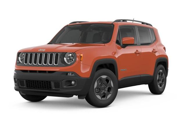 New 2018 Jeep Renegade Latitude 4WD