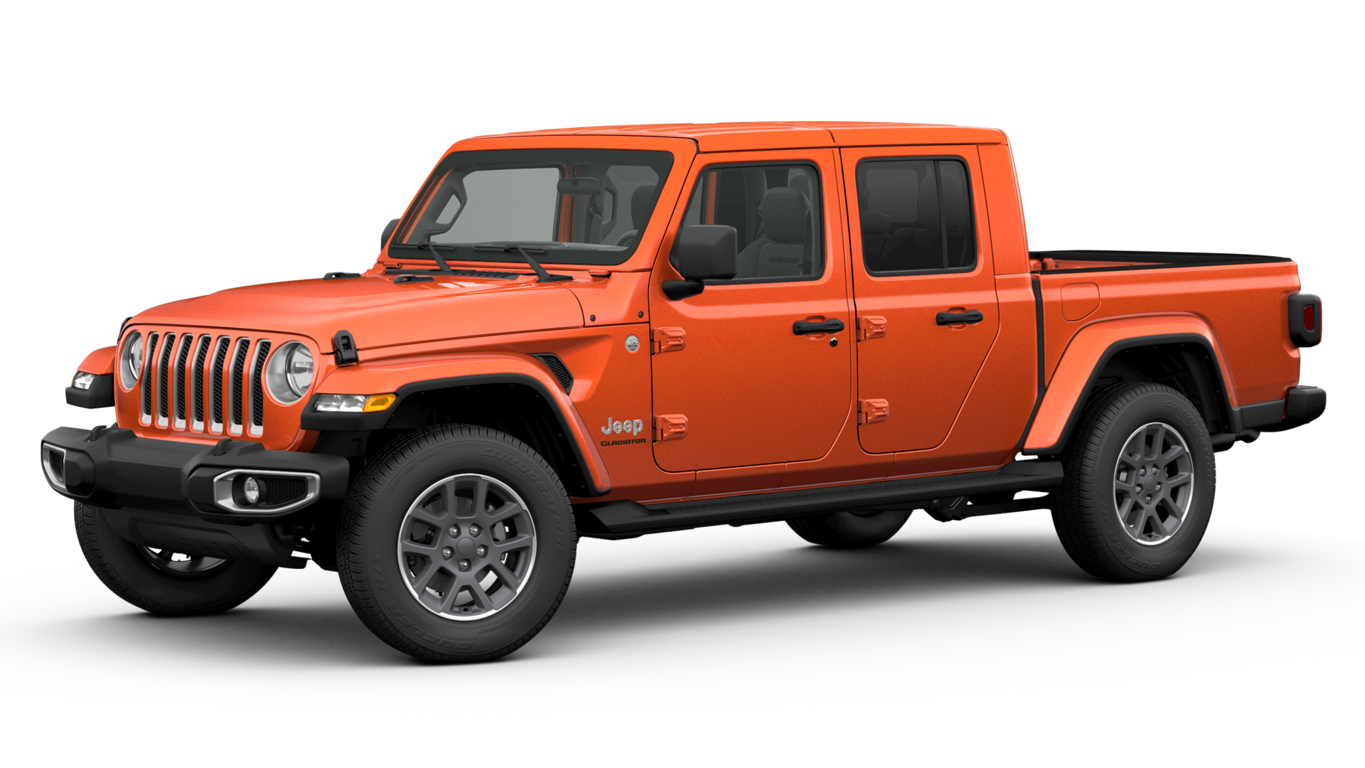 2020 Jeep Gladiator 4x4 Orange