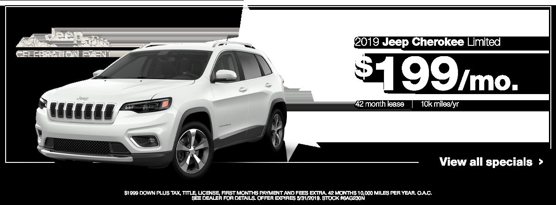 2019 Cherokee Special