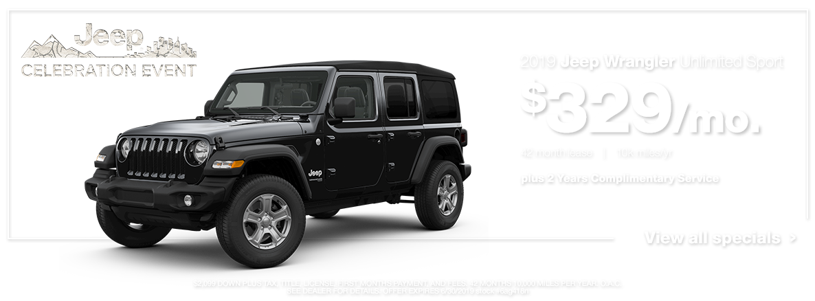 2019 Wrangler Unlimited Sport
