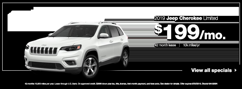 2019 Cherokee Limited