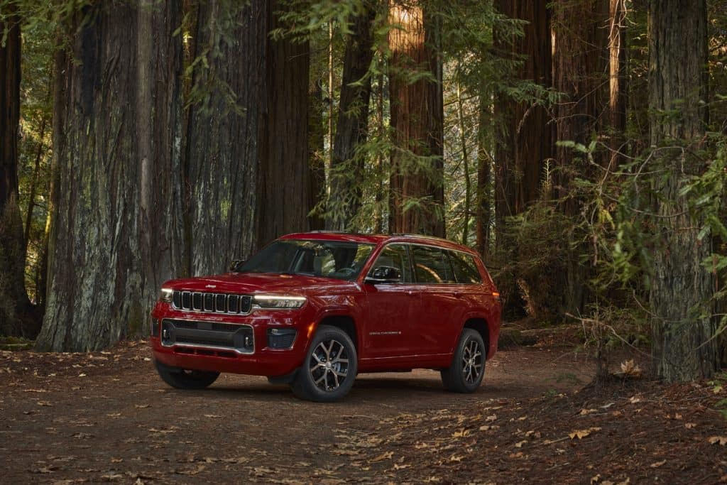2021 Jeep Grand Cherokee L Overland for sale near Hopkins, MN