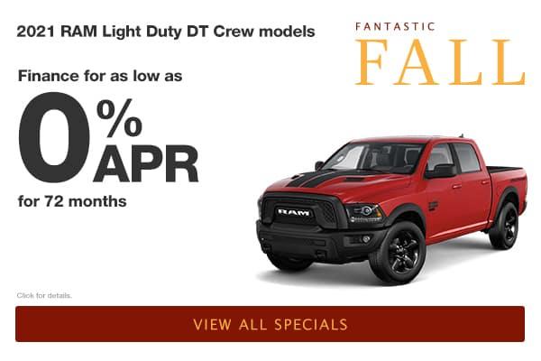 RAM 0% for 72 Months APR
