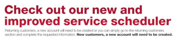 Service banner