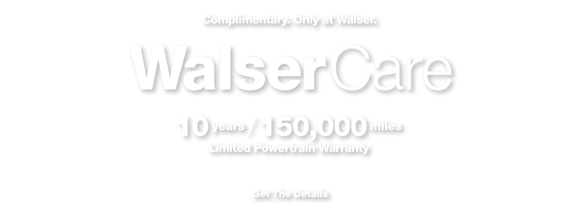 WalserCare Limited Powertrain Warranty