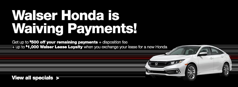 Best Honda lease deals near Burnsville, MN at Walser Honda