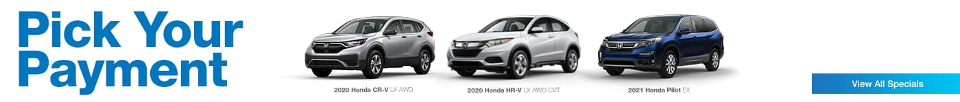 Honda CR-V HR-V Pilot near Burnsville, MN at Walser Honda