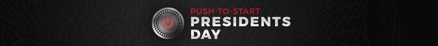 Push To Start Presidents Day Sales Event