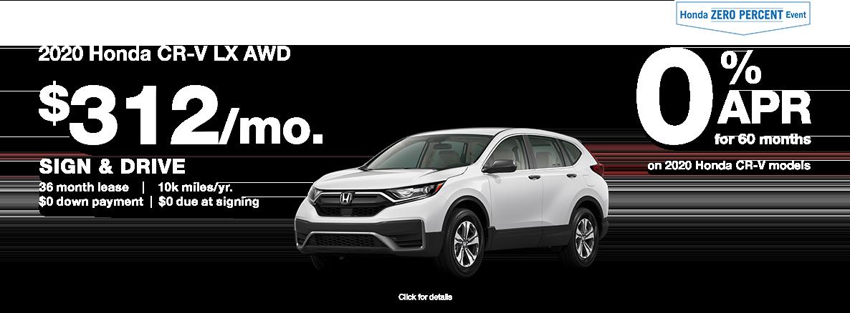 2020 Honda CRV SUV