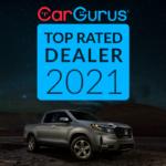 2021 Honda Cargurus Dealer award